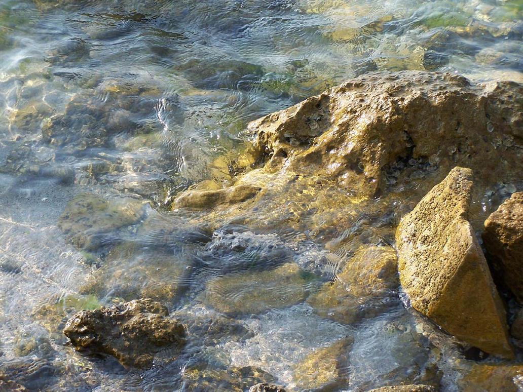 Ocean Rocks 3 by Polly-Stock