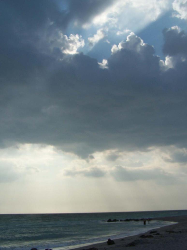 Ocean Sky Stock by Polly-Stock