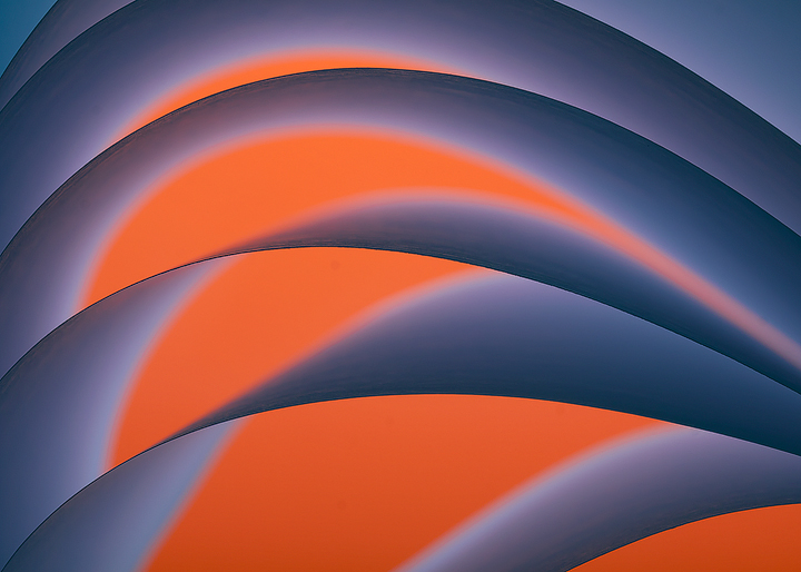 Blue and orange horizontal by TeresaHowes