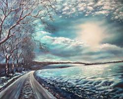 Winter Sun 2 by emilyjhorner