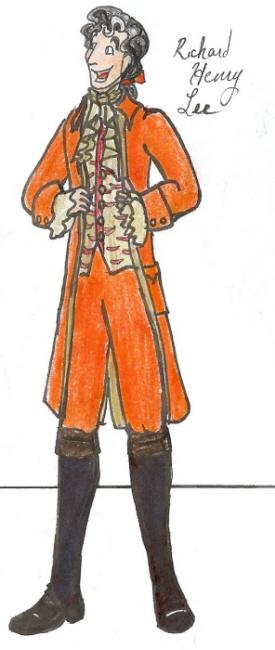 Richard Henry Lee by ink-n-imp