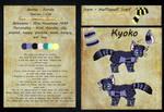 Kyoko reference sheet - Please read description