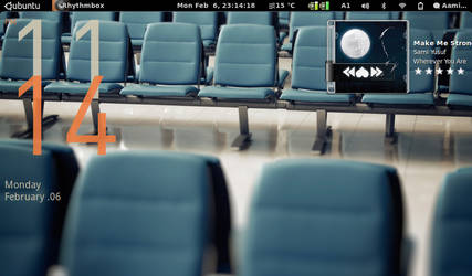 Gnome-Shell - Desktop by aamir-mustafa