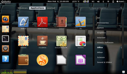 Gnome-Shell - Applications by aamir-mustafa