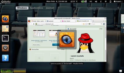Gnome-Shell - Applications - Firefox by aamir-mustafa
