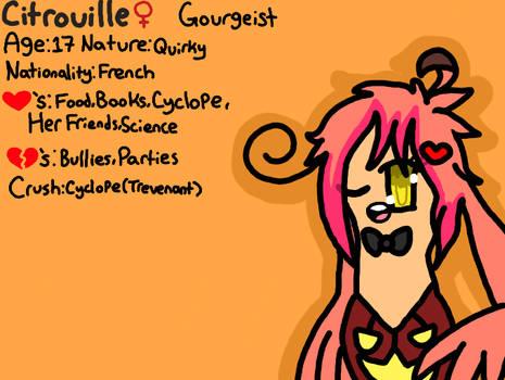 Citrouille the Gourgeist
