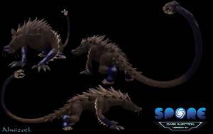 Darkspore Creatures: Ahuizotl