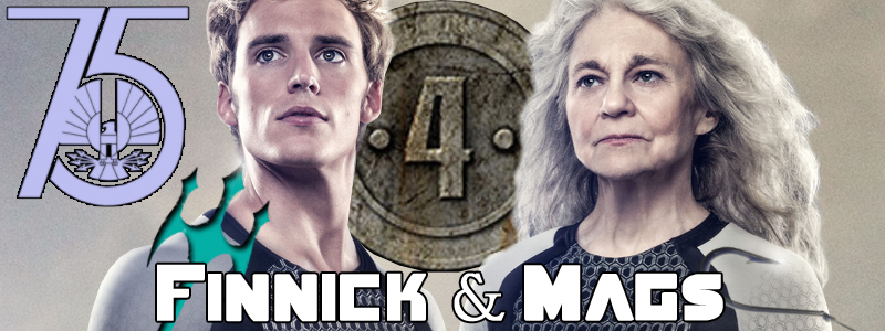 Finnick and Mags's Banner by LeMeNe