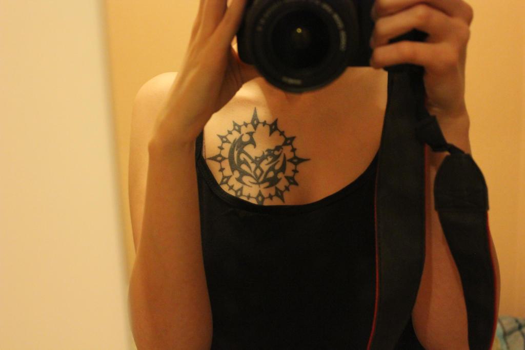 i love my tattoo by Rhass
