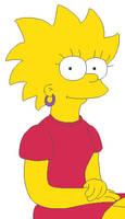 The Simpsons - Teen Lisa by KidBobobo