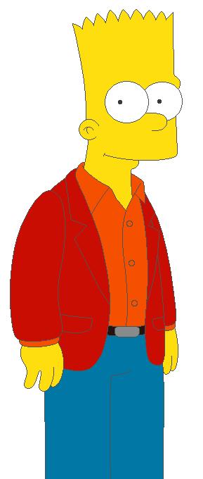 Teen Bart by KidBobobo