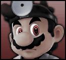 SSB Dr. Mario: True Form (Mugshot) by KidBobobo
