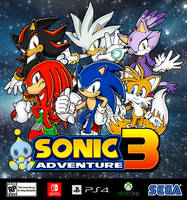 Sonic Adventure 3 by KidBobobo