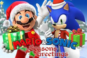 Mario and Sonic - Seasons Greetings