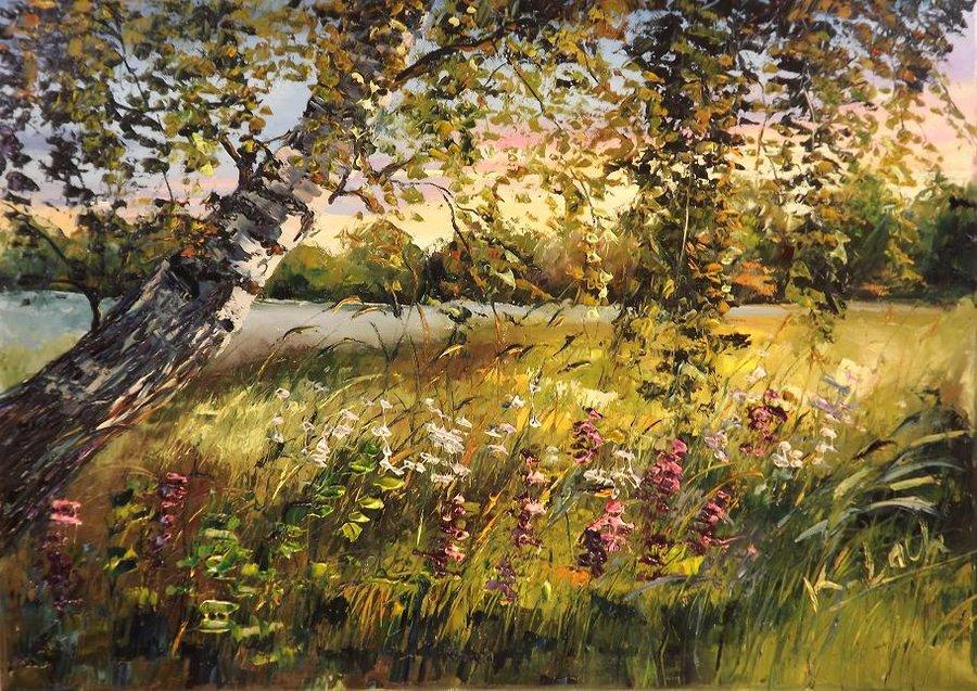 Under the birch by Kasia1989
