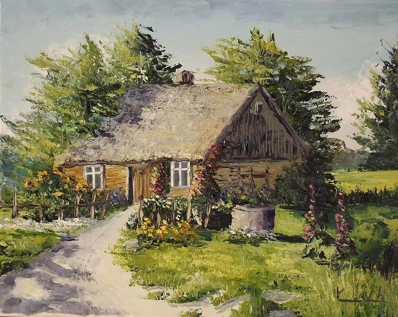 Summer at Grandma's by Kasia1989