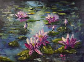 Waterlilies by Kasia1989
