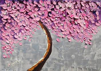 Springtime Tree by Kasia1989