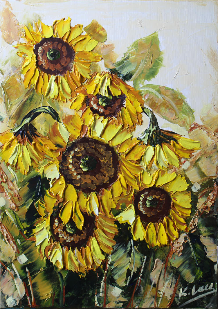 Sunflowers by Kasia1989