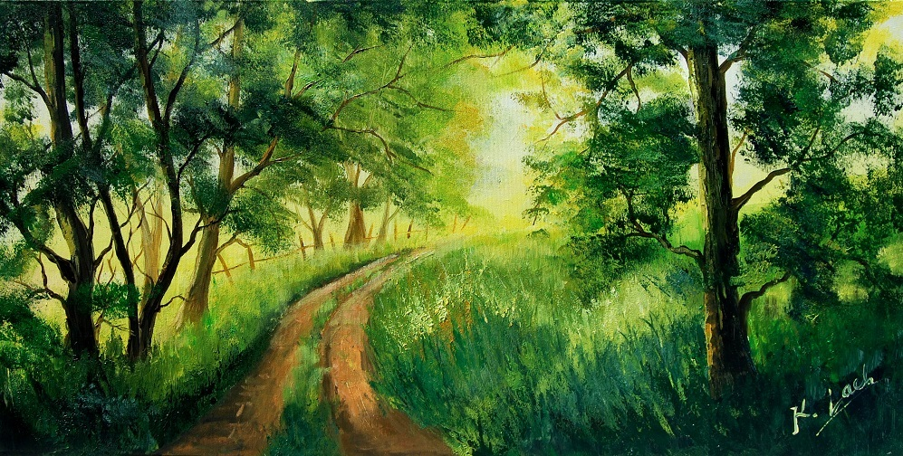 Green Forest by Kasia1989