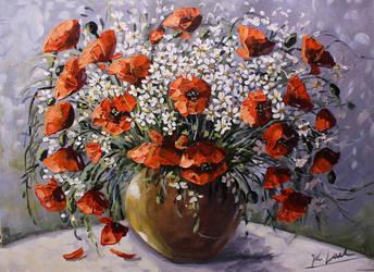 Vase full of summer by Kasia1989