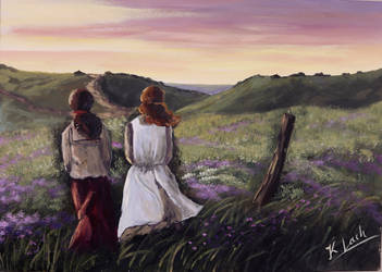 Friendship Anne of Green Gables painting