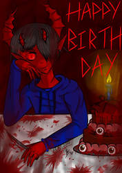 My Birthday is 17/10 but no one care (Creepypasta) by ThanhHuyTeddyStitch