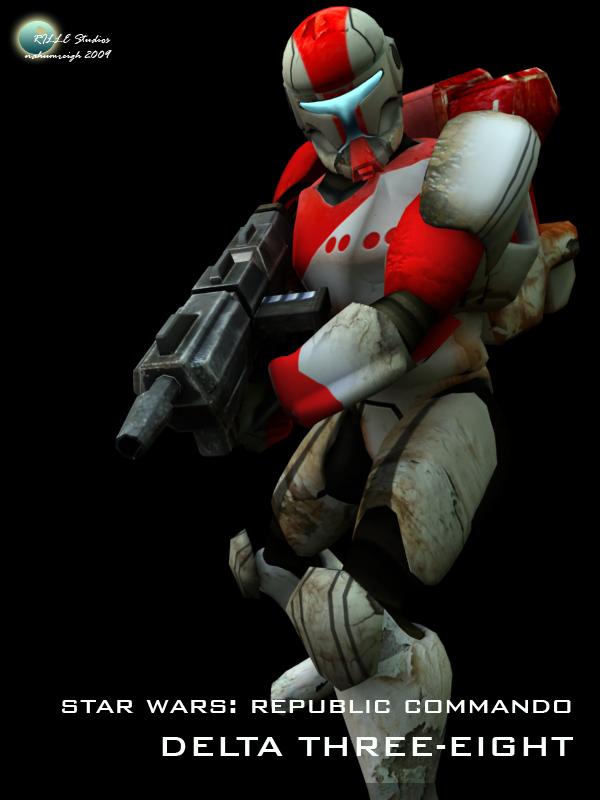 Re: Star Wars Republic Commando: Delta Squad (additional renders)
