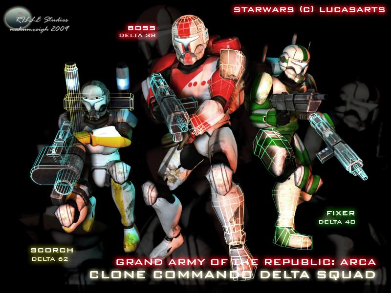 Star wars republic commando delta squad additional renders