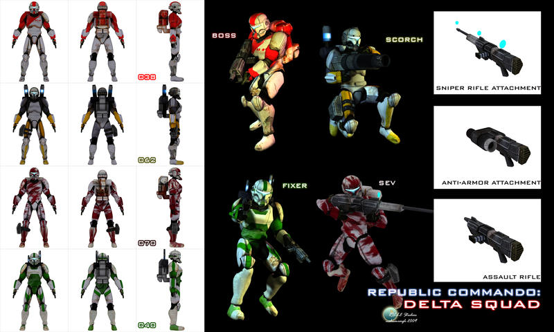 Star Wars Republic Commando Scorch Just Wallpaper Blog