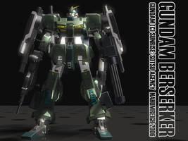 Berserker Gundam by nahumreigh