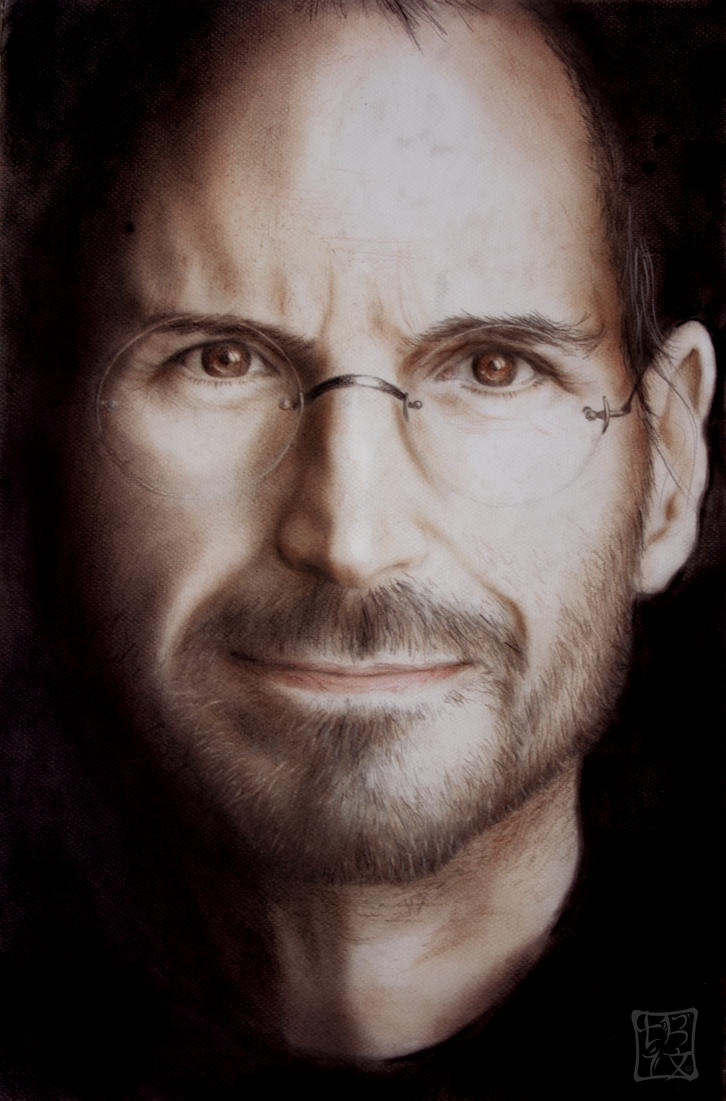 Steve Jobs by trixdraws