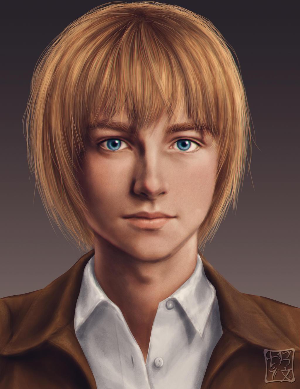 Armin Arlert by trixdraws