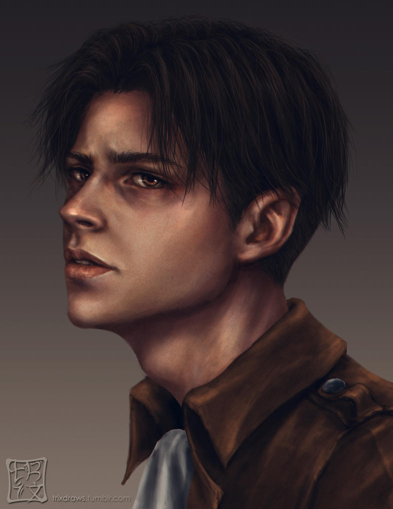 Young Eren Jaeger Cosplay Levi Ackerman by trixd...