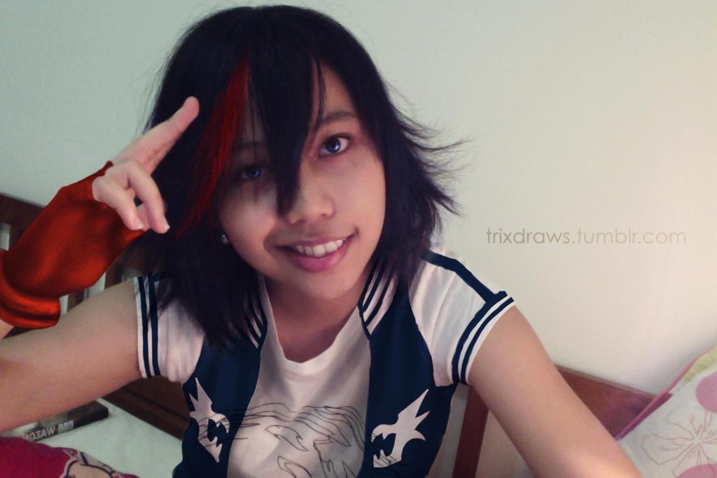 ID 020: Matoi Ryuko Closet Cosplay by trixdraws