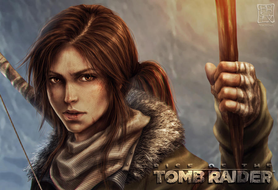 Rise of the Tomb Raider - v02 by trixdraws