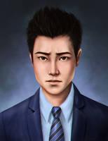 Commission - Min Lee by trixdraws