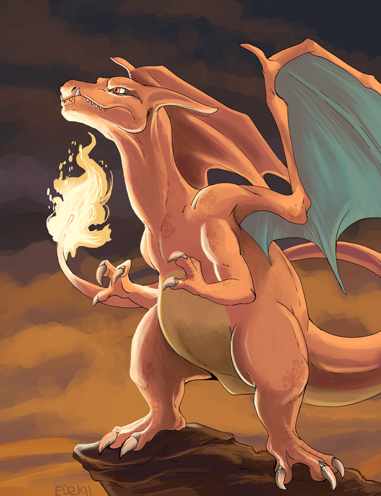 150+ project: charizard by edface