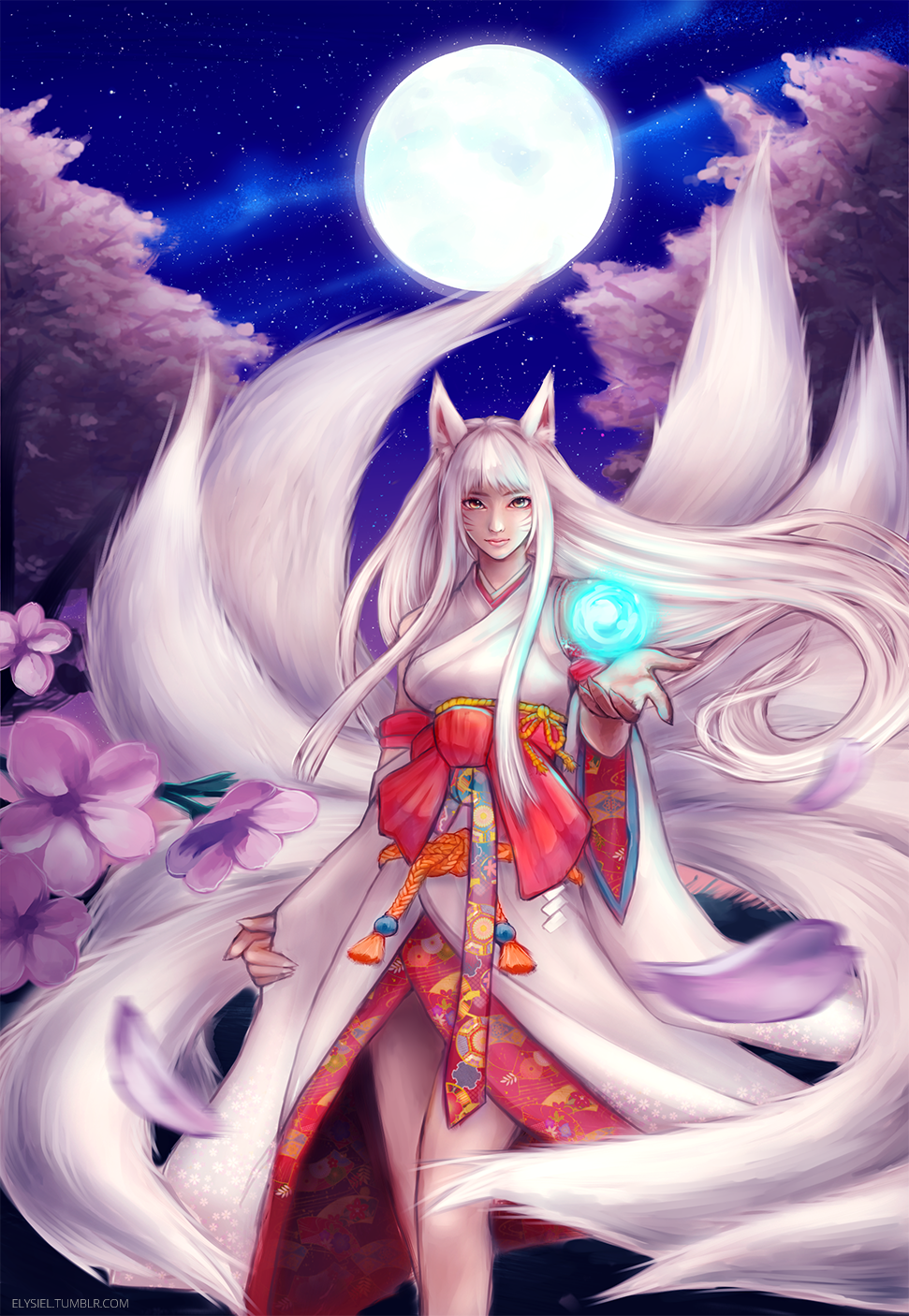 Kitsune Ahri by nyaruko on DeviantArt