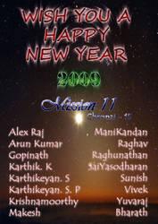 Happy New Year 2009 by saiy2k