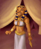 Sekhmet by sesshy