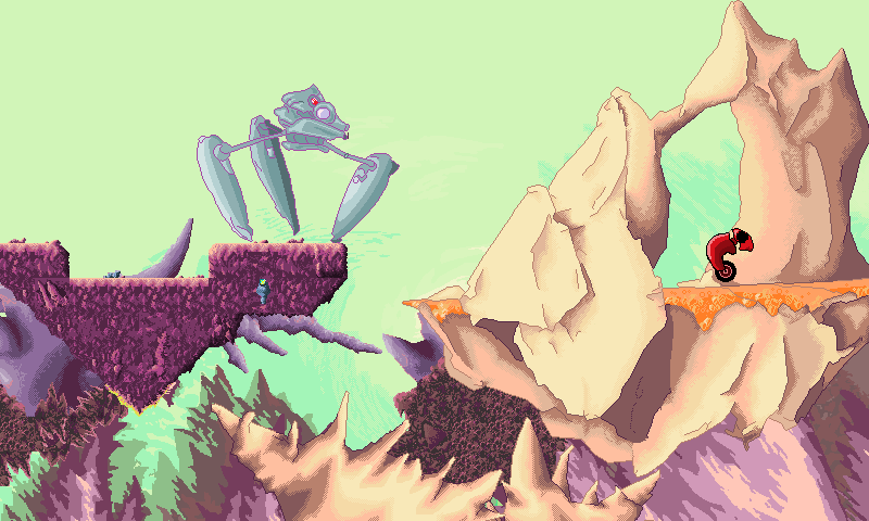 Crawler strikes attack - Tileset combination by nigmashumma