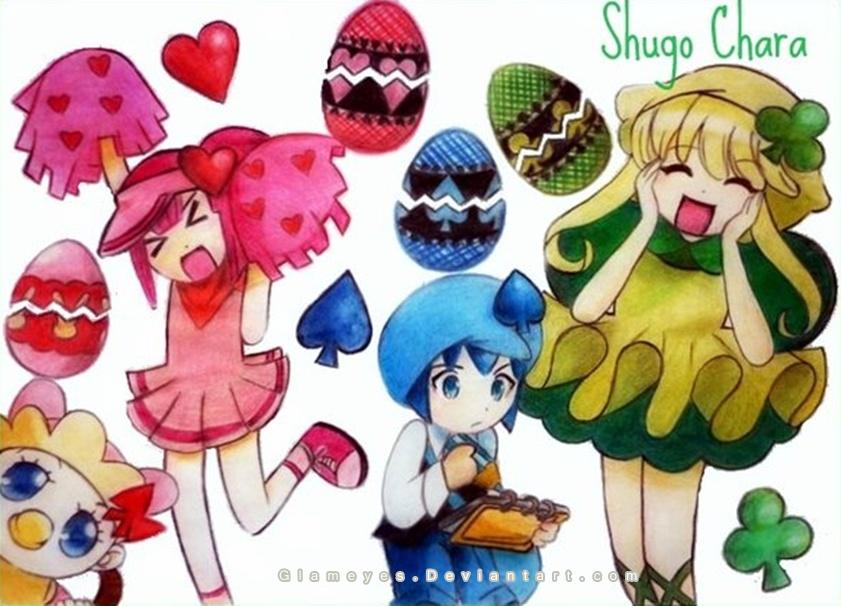 Shugo chara by Glameyes