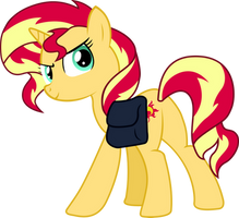 Sunset Shimmer by SnowyFlame