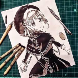 Sakura Kinomoto Inked by mnarcadia