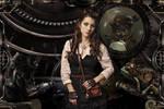 steampunkgirl by: Slavatcka