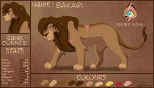 [Zambisi Pride] Bakari Character Sheet