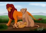 Nala's Family by Ennuiwolf