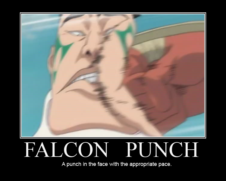 FALCON PUNCH by CyrilCyberpunk