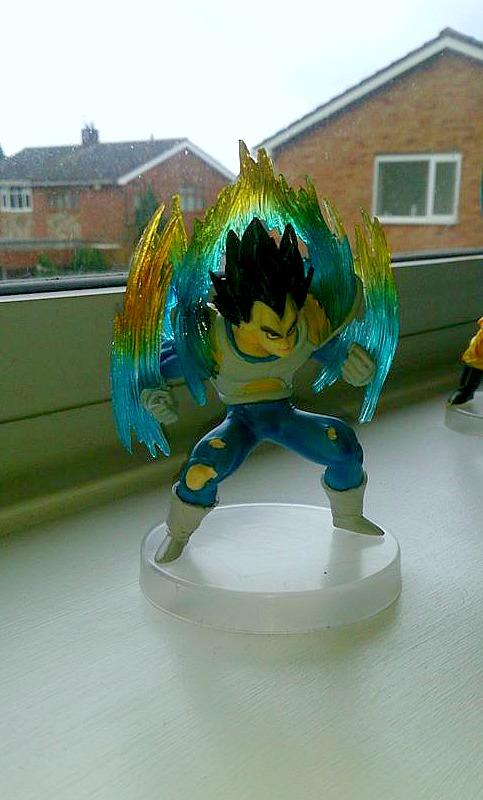 Dragon ball Z - Vegeta statue by Niruharu